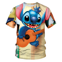 T-shirts for girls, new sonic clothes, boy shirts, 3D printed children's T-shirts, kawaii T-shirts, round neck tee tops, 4T-14T