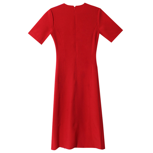 HWLZLTZHT 2021 New Casual Dress Split Party Long Dresses Women Summer New Bodycon Sstretch Slim Soft Midi Ddress Femme 6