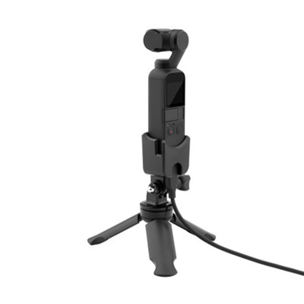 For Osmo Pocket Pocket Ling Miao Camera Plastic Expansion Stand Base For Charging Base Black Stand Holder Charging Base black