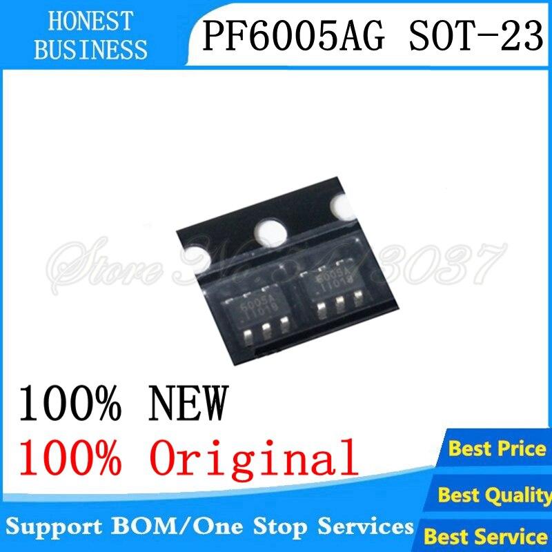 NEW 5PCS 100% Original PF6005AG PF6005A SOT23 PF6005 6005AG 6005 SOT23-6 Chipset