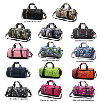 ROEGADYN Outdoor Sports Bags For Women Fitness Waterproof Sports Bags Dry Wet Separated Small Gym Bag Shoes Compartment Handbag 2