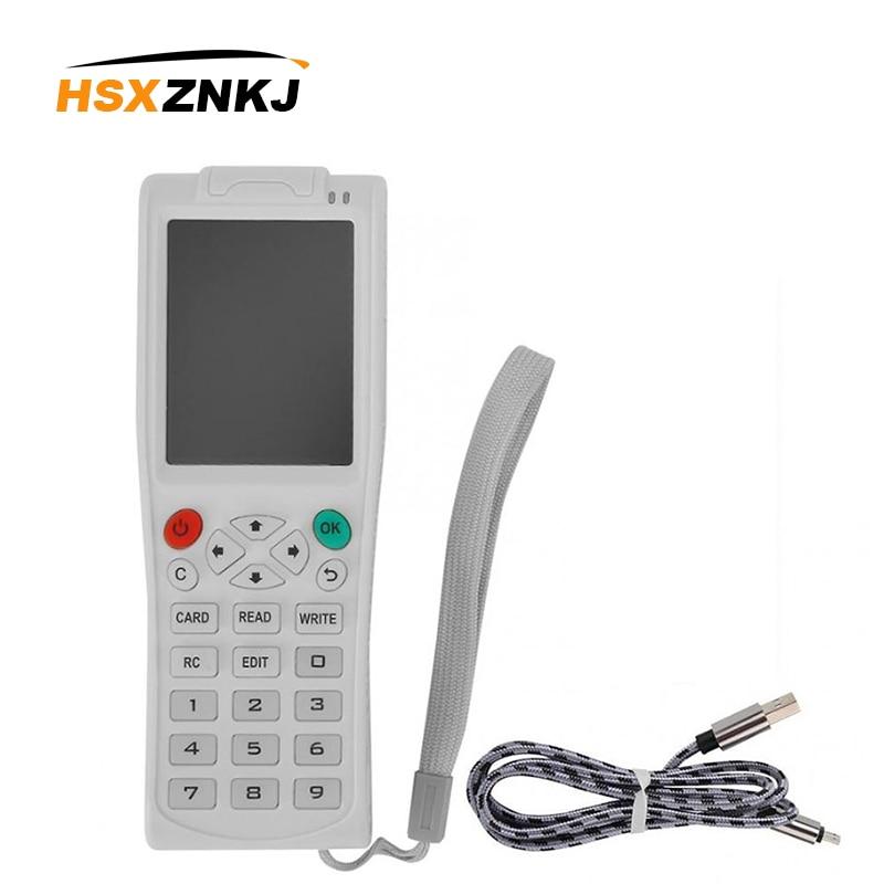 English Version Newest ICopy5 With Full Decode Function Smart Card Key Machine RFID NFC Copier IC ID Reader Writer Duplicator