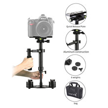 S40+ 0.4M 40CM Aluminum Alloy Handheld Steadycam Stabilizer for Steadicam for Canon Nikon Sony AEE DSLR Video Camera Accessories(China)