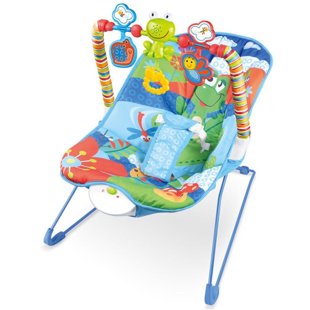 Multi-function Baby Rocking Chair For Newborn Kids Bassinet Cradle Seat With Light Music Electric Rocking Hamaca Bebe Swings(China)