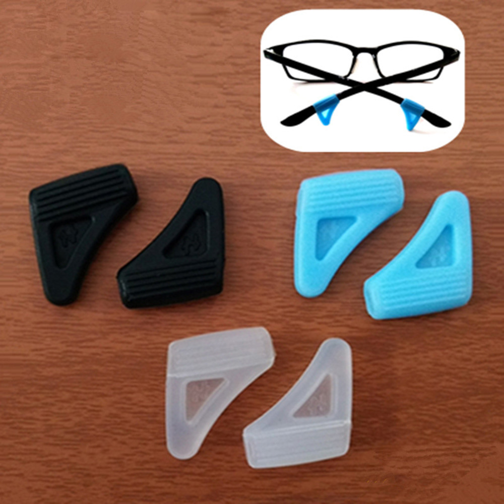 Anti Slip Ear Hook Eyeglass Eyewear Accessories Eye Glasses Silicone Grip Temple Tip Holder Spectacle Outdoors Eyeglasses Grip