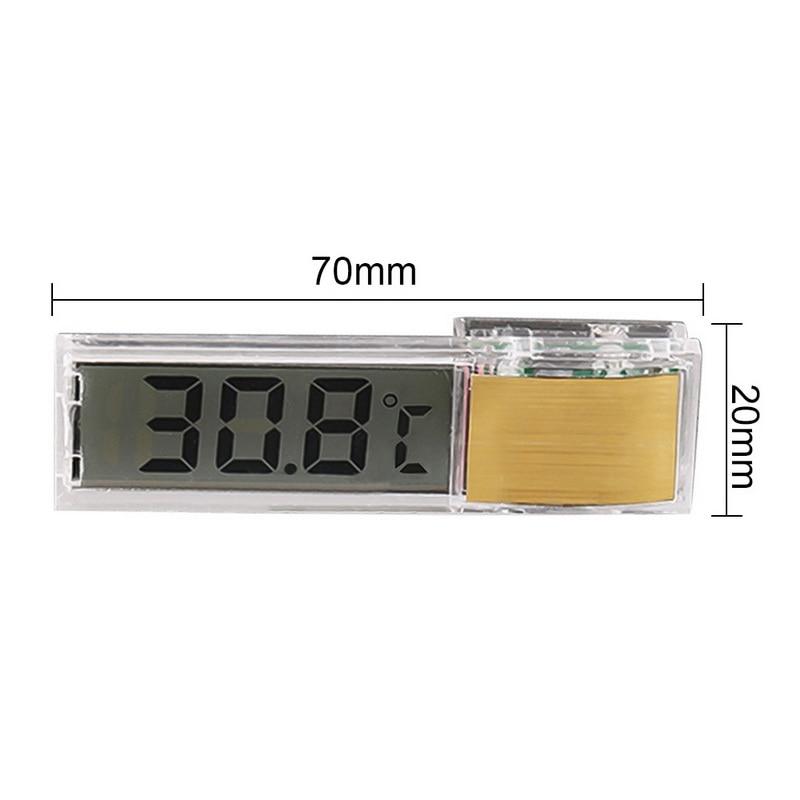 Aquarium Thermometer Portable Temperature Gauge for Fish Tank