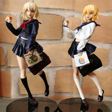 23Cm Anime Figuur Fate/Grand Order Fate Stay Night Sabel Van Burger King Sexy Meisje Uniformen Pvc Action figuur Speelgoed Model Pop Gift(China)