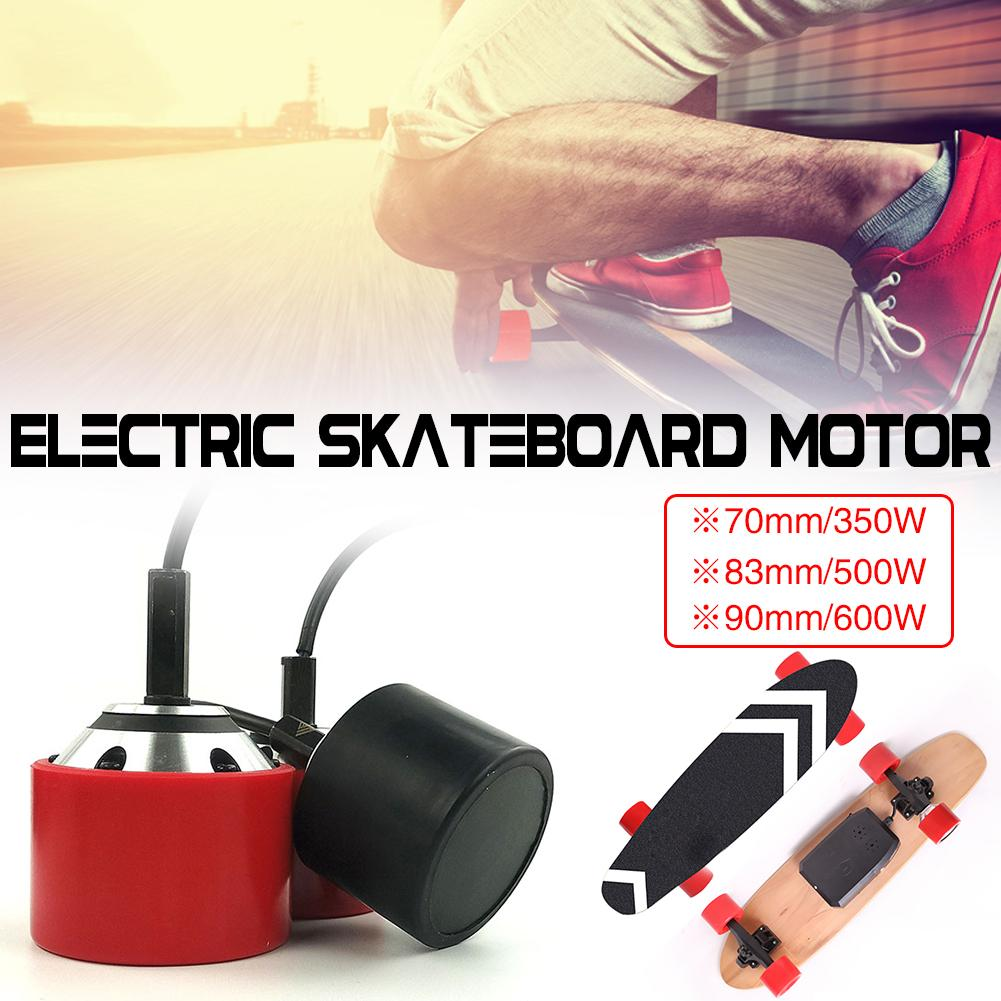 70mm 83mm 90mm Electrical Skateboard 350W 500W 600W Motor Wireless Sensor Remote Controller Drive Hub Motor Truck Kits