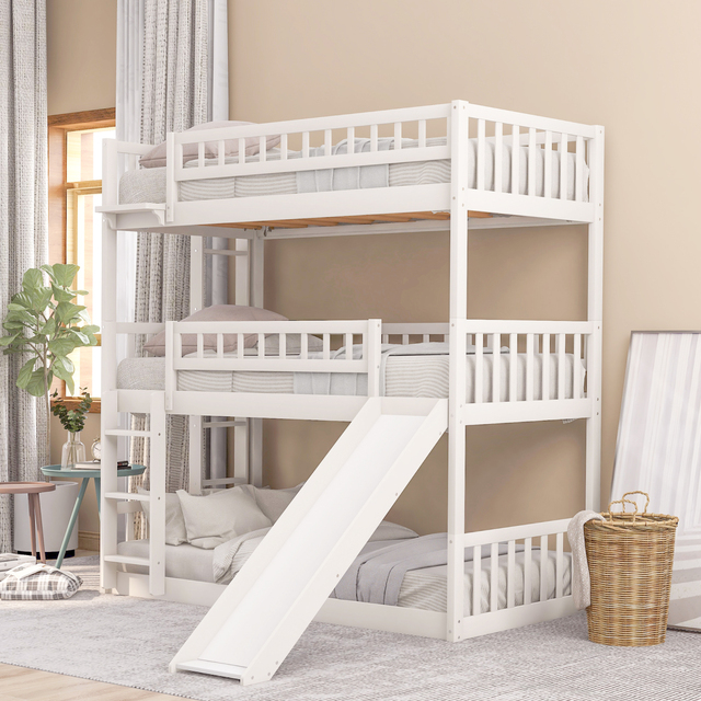 Triple Bunk Bed Twin-Over-Twin-Over-Twin  4
