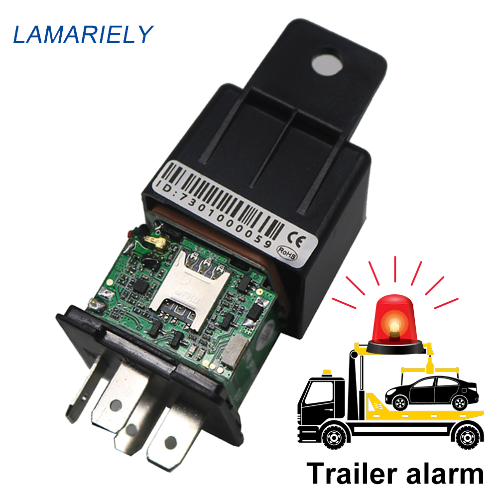 GPS GSM Locator Battery Gps-Tracker Trailer-Shock Motorcycle CJ730 Mini Car 2G Builtin title=