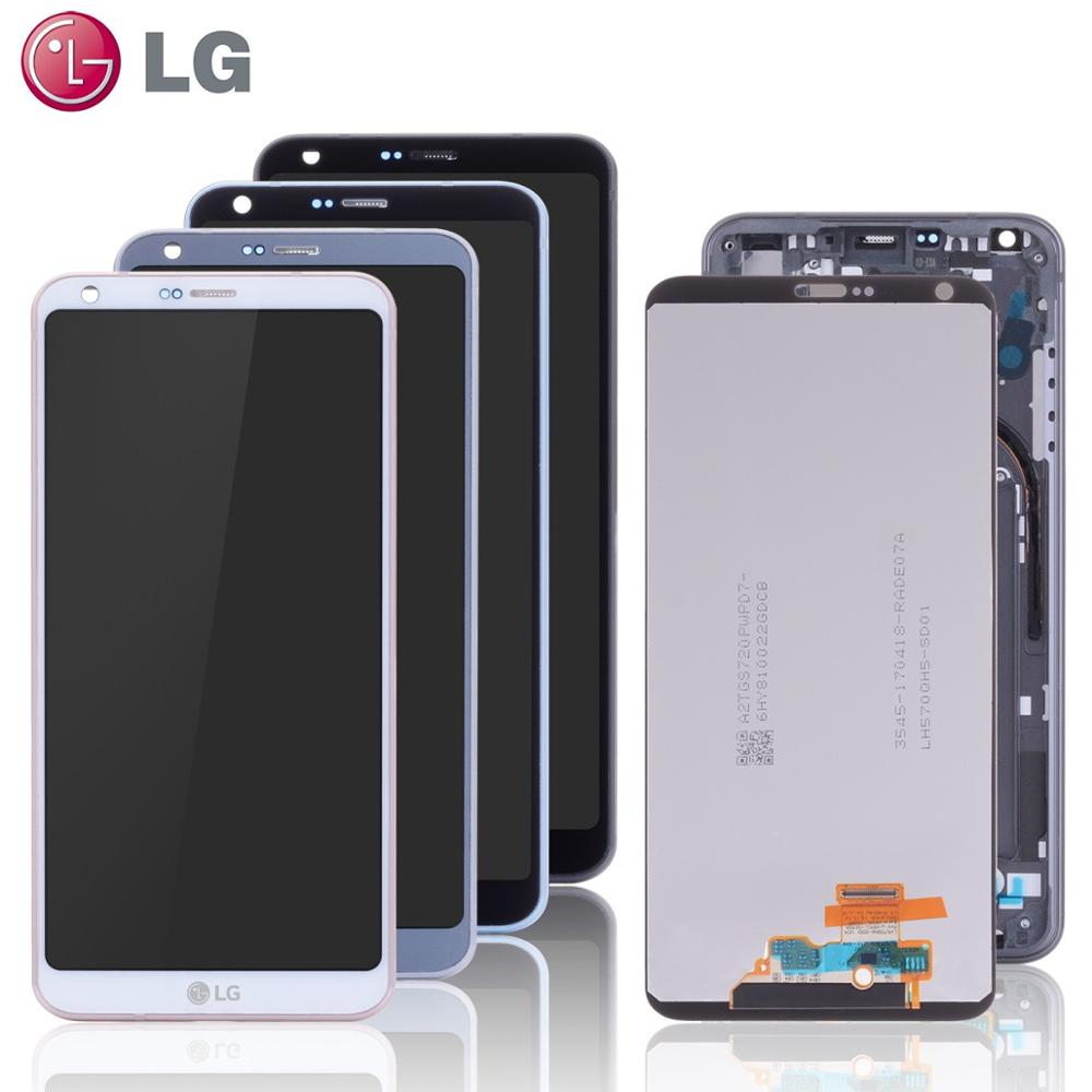 LG Original Display Digitizer Frame Touch-Screen H870 For G6 LCD With Us997-Parts H873
