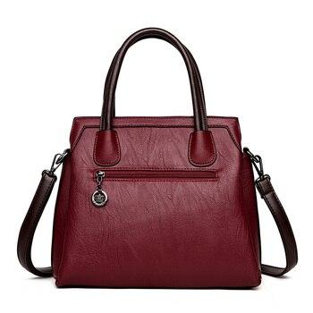 Classic Vintage Leather Handbag 2