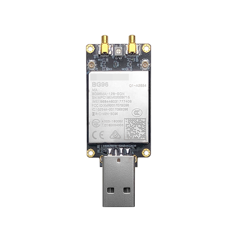BG96 USB Dongle With Sim Card Slot BG96MA-128-SGN LTE Cat.M1/NB1 & EGPRS Module NBIOT Modem Pin To Pin EG91/EG95