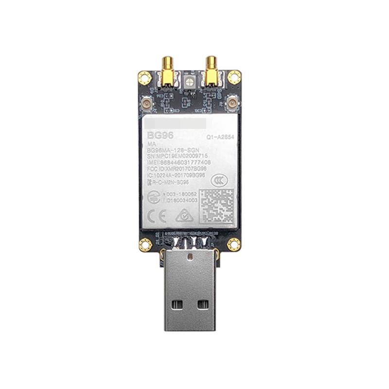 BG96 USB Dongle With Sim Card Slot BG96MA-128-SGN LTE Cat.M1/NB1 & EGPRS Module NBIOT Modem Pin To Pin EG91/EG95