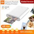 Глобальная версия Xiaomi Mijia Карманный принтер AR 300 точек/дюйм портативный мини-карманный принтер этикеток для путешествий партии