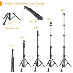 Image 4 - ビデオリングライト 10in 三脚スタンドビデオ電話ホルダー youtube ライブリングライト写真撮影ランプ調光可能な照明