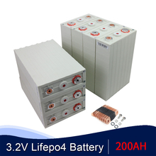 CALB 200AH 32PCS 3.2V Lithium Iron Phosphate Lifepo4 Brand A  Brand NEW  Form 1600AH 800AH 400AH 200AH Cell Packs EU US Tax Free