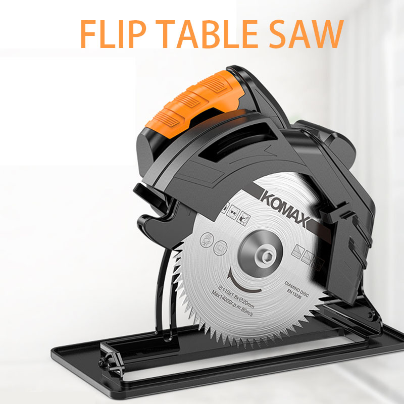 7 inch home multi-function electric circular saw portable woodworking flip saw circular saw table saw cutting machine