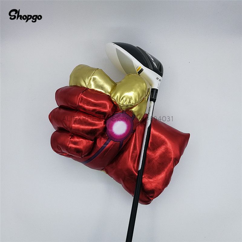 Laser Boxing Golf Driver Headcover 460cc Waterproof The Fist Wood Golf Cover Club Accessories Novelty Great Gift