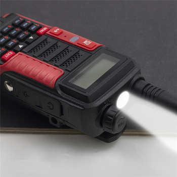 Baofeng Radio UV 10R Professional Walkie-Talkie High Power 10W 5800mAh Dual Band 2Way CB Ham Radios USB Charging UV-10R 2020 New
