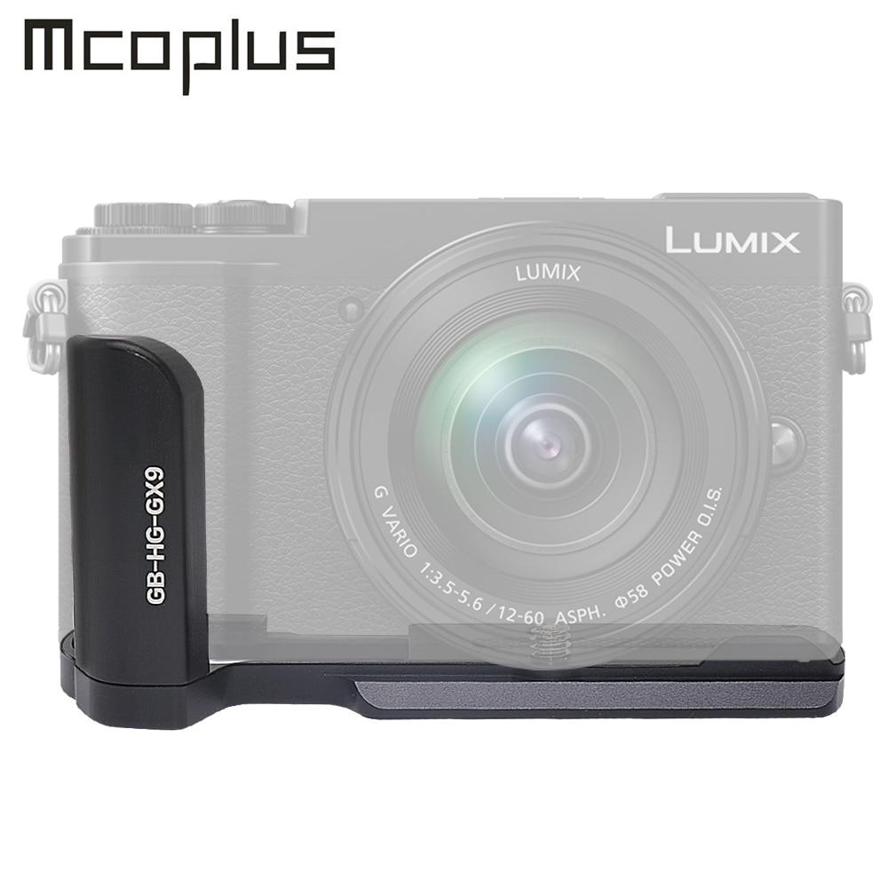 Mcoplus GB-GX9 aluminum alloy Handle Grip for Panasonic Lumix GX80 GX85 GX9 GX7 II III GX7 Mark II III