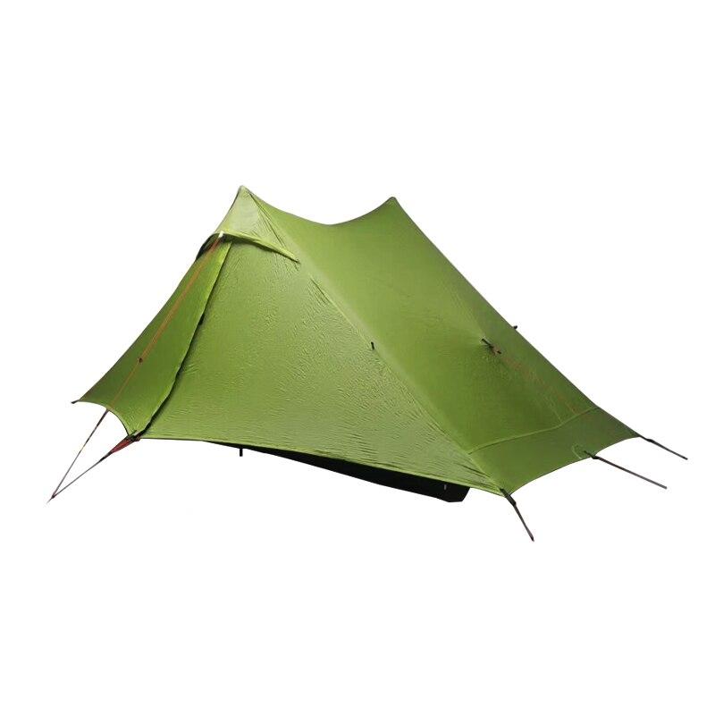 LanShan 1 pro 2 pro палатка 1/2 человек уличная Ультралегкая палатка 3 сезона профессиональная 20D нейлоновая двусторонняя силиконовая палатка