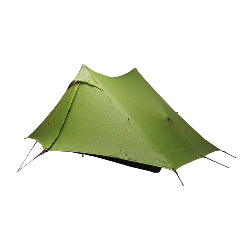 LanShan 1 Pro 2 Pro Tent 1/2 Person Outdoor Ultralight Camping Tent 3 Season Professional 20D Nylon Both Sides Silicon Tent