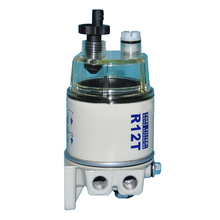 R12T Easy Install Spin On Engine Auto Replacement Oil Water Separation Cleaning Fuel Filter Professional Lawn Mower Universal