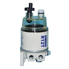 R12t fácil instalar rotação no motor de substituição automática óleo separação água limpeza filtro combustível profissional cortador grama universal
