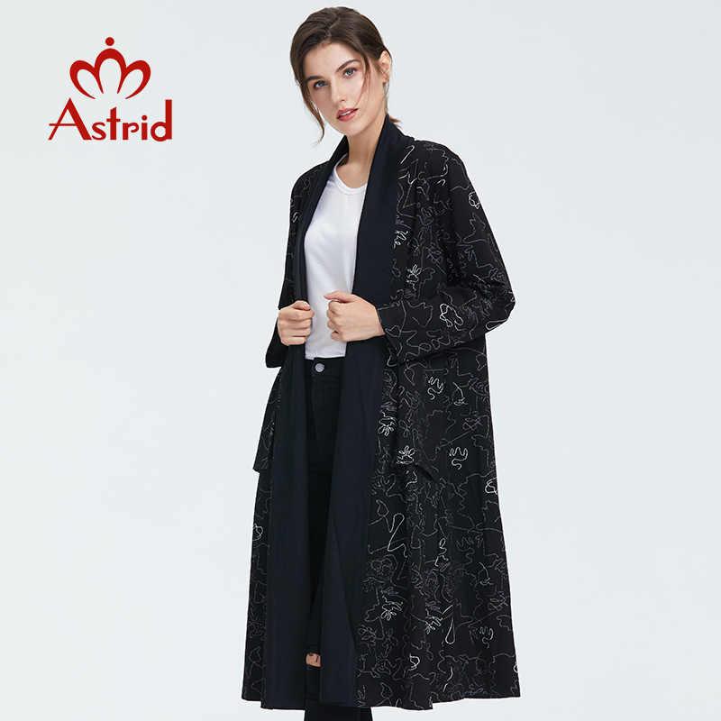 Astrid 2019 осень новое поступление высококачественный Женский кардиган длинный Модный стильный полосатый кардиган для женщин кардиган осень SW8802