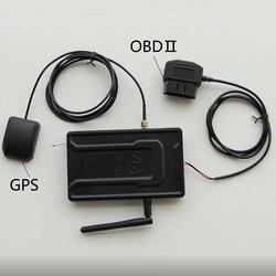 A91 GSM GPS Tracker telefon komórkowy dwukierunkowy System alarmowy samochodu z pilotem LCD uruchom 91 Alarm samochodowy dla samochodu