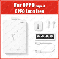 ETI02 Slide Control ORIGINAL OPPO Enco Free tws Earphones Wireless Bluetooth headset Reno ace 3 Pro 2z 2f 10x zoom Find x2 a5 a9