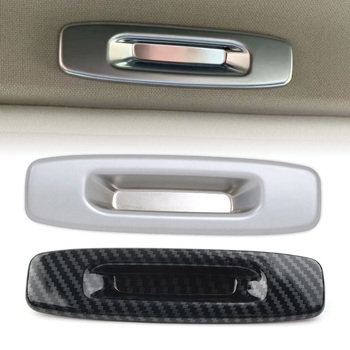 ABS Inner Interior Skylight Sunroof Door Handle Bowl Cover For Subaru Forester 2019-2020 Car Styling Accessories Parts image