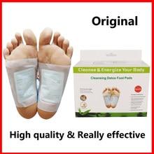 Оригинальные Детокс Патчи для ног Артемизия аргии колодки токсинов для ног для похудения очищающие травяные средства для здоровья тела кле...