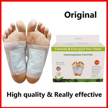 Original Detox Foot Patches Artemisia Argyi Pads Toxins Feet Slimming Cleansing Herbal Body Health Adhesive Pad Weight Loss