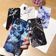 Swtengyue Marble Phone Case For iPhone 7 8 Plus Dream Shell Pattern Cases For iPhone XR XS Max 7 6 6S Plus Soft TPU Cover(China)