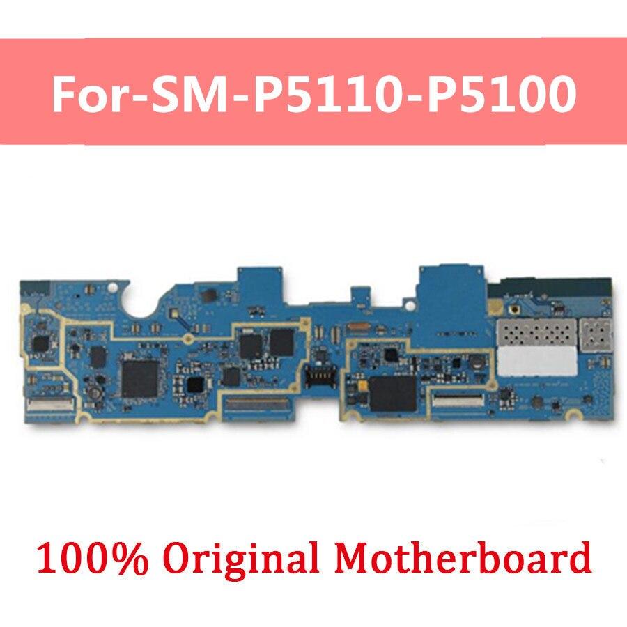 16GB pour Samsung Galaxy Tab 2 10.1 P5100 P5110 carte mère originale déverrouillée carte mère de travail complète