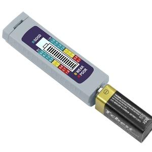 Мини цифровой тестер заряда батареи проверка емкости литиевая батарея 1,5 V 9V Блок питания Тестер универсальные диагностические измерительн...
