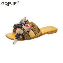 ruiyee ms real hair slipper luxurious fox hair workplace slippers comfortable hairy slippers sandals 2018 summer style Woman Slippers Summer Fashion Bow Sandals 2020 New Multicolor Open toe Slipper Comfortable Non-slip Home Slippers Beach Slippers