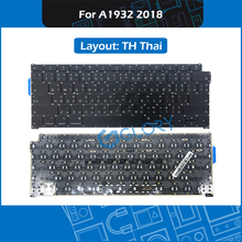 New A1932 TH Thai standard Keyboard For Macbook Air 13.3″ Late 2018 Thailand Keyboard Replacement MRE82