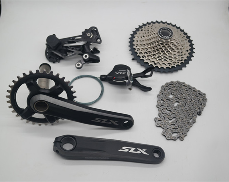 SHIMANO SLX M7000 11Speed Groupset 11-42T 11-46T For Mountain Bike 170//175mm
