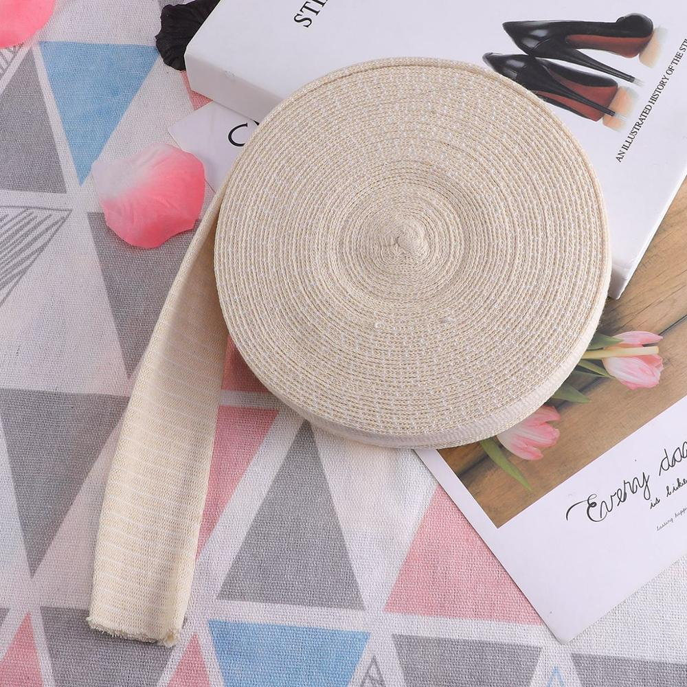 1pc Bandage Premium Cotton High Elastic Tubular Compression Tape Bandages Beauty Supplies For Adults Lady Women