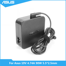Для Asus K501UX K53E K55A Q550L U56E X551M X555LA ноутбука 19V 4.74A 90 Вт 5,5*2,5 мм ADP-90YD B PA-1900-30 адаптер переменного тока Мощность Зарядное устройство