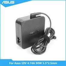 ل Asus K501UX K53E K55A Q550L U56E X551M X555LA محمول 19V 4.74A 90W 5.5*2.5 مللي متر ADP 90YD B PA 1900 30 AC محول الطاقة شاحن