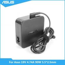 Para Asus K501UX K53E K55A Q550L U56E X551M X555LA Laptop 19V 4.74A ADP 90YD B PA 1900 30 90W 5.5*2.5 milímetros adaptador AC Carregador de Energia