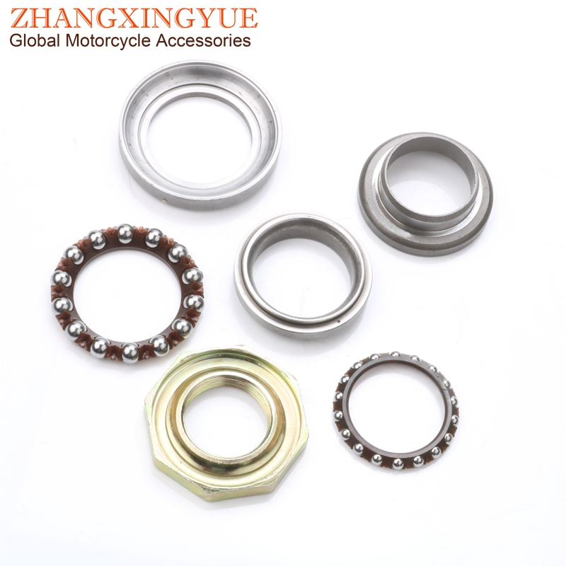 Chinese Scooter Fork Steering Stem Head Bearing Set For GY6 4 Stroke 50cc 125cc 150cc