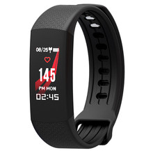 Smart Wristband men heart rate sleep monitor Step counting Calories Fitness Bracelet Call/Message Reminder Bluetooth Smart Band(China)