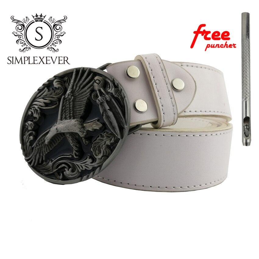 Eagle Metal Cool Belt Buckles for Man Unisex Western Fashion Buckle Cowboys Cowgirls Belt Buckle Dropshipping