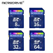 Carte mémoire SD haute vitesse pour appareil photo, 8/16/32/64/128 go