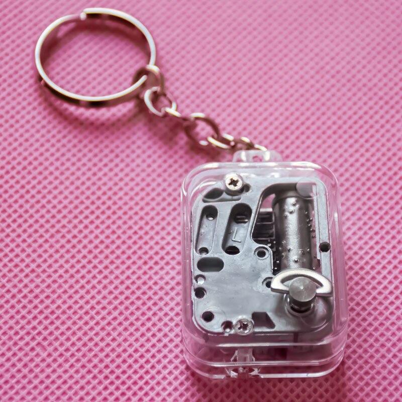 Music Box T Yunsheng Movement Keychain DIY Play Set 18 Tones Best Mechanical Metal Music Boxes Clockwork Music Box With Screws